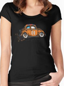 General.....Just a good ol bug Women's Fitted Scoop T-Shirt