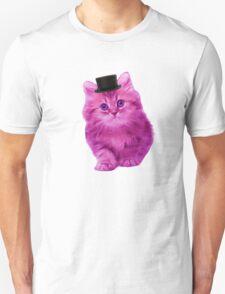 Top hat cat T-Shirt