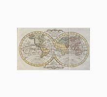 Vintage Map of The World (1795) Unisex T-Shirt