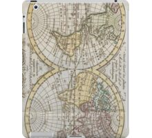 Vintage Map of The World (1795) iPad Case/Skin