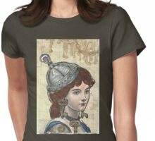 Hotel Lobby Libby Womens Fitted T-Shirt