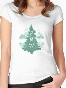 Pacific Northwest Women's Fitted Scoop T-Shirt