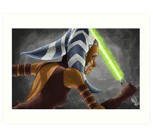 The Wrong Jedi Art Print