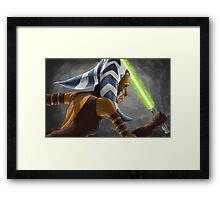 The Wrong Jedi Framed Print