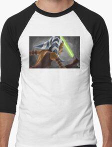 The Wrong Jedi Men's Baseball ¾ T-Shirt