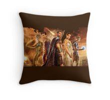 gods of egypt Throw Pillow