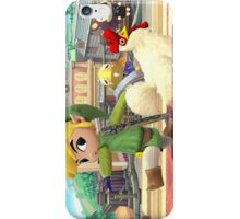 Super Smash Bros. Toon Link and Cucco iPhone Case/Skin