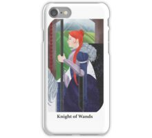 Knight of Wands iPhone Case/Skin