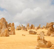 The Pinnacles at Nambung National Park Western Australia Sticker