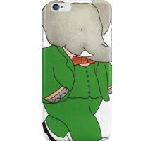 Babar l'Elephante iPhone Case/Skin