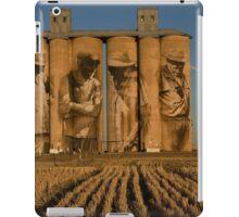 Mural on Brim Silo iPad Case/Skin