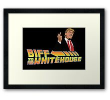 Biff To The White House Framed Print
