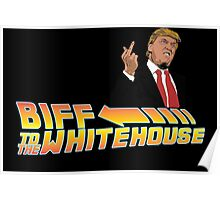 Biff To The White House Poster