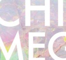 Opal Chi Omega Sticker