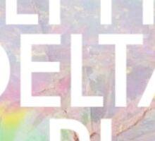 Opal Alpha Delta Pi Sticker