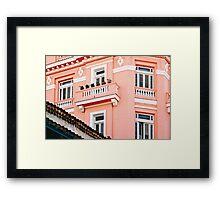 Hemingway's Hotel (Havana) Framed Print