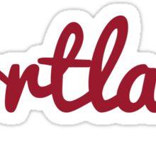 Portland - RED Sticker