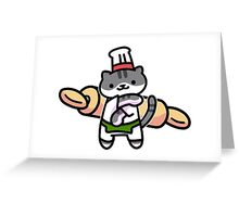 Guy Furry Greeting Card