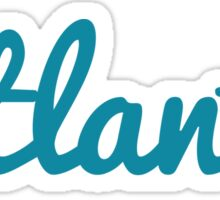 Atlanta - BLUE  Sticker