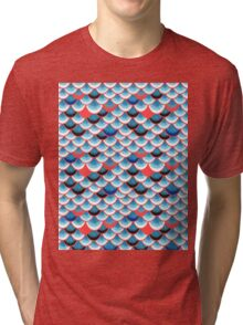 curls and waves Tri-blend T-Shirt