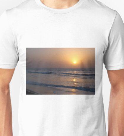 Sunset over Atlantic Ocean Unisex T-Shirt