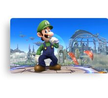 Super Smash Bros. Luigi Canvas Print