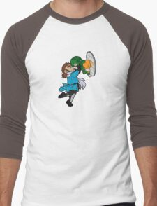 Just Dropping In Men's Baseball ¾ T-Shirt