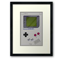 Classic Gameboy Framed Print