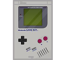 Classic Gameboy Photographic Print