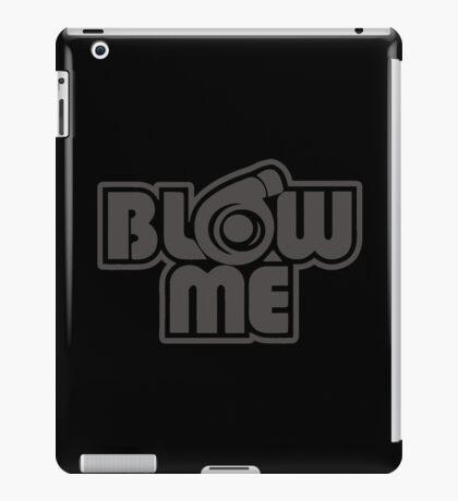 turbo blow me black iPad Case/Skin
