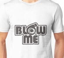 turbo blow me white Unisex T-Shirt