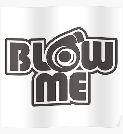 turbo blow me white Poster
