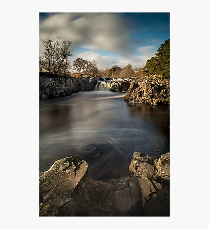 Low Force Waterfall, Teesdale Photographic Print
