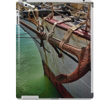 The Picton Castle - a real Tall Sailing Ship.........! iPad Case/Skin
