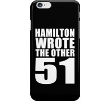 The Other 51 iPhone Case/Skin