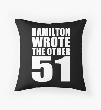 The Other 51 Throw Pillow