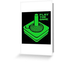 Play the Game Greeting Card