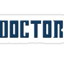 Doctor Who - Logo Sticker