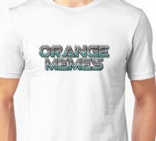 Orange Memes Retro Logo Unisex T-Shirt