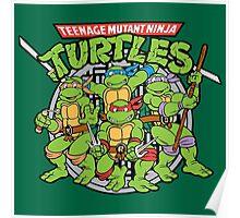 Teenage Mutant Ninja Turtles - Classic Poster