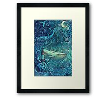 Moonlit Sea Framed Print