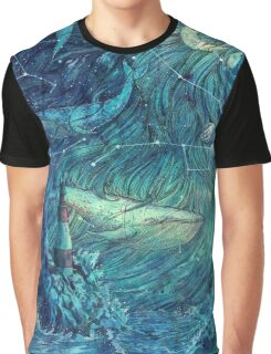 Moonlit Sea Graphic T-Shirt