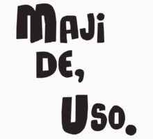 Miscellaneous - maji de uso One Piece - Long Sleeve