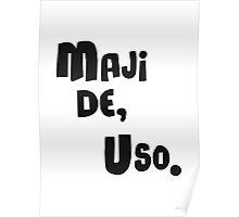 Miscellaneous - maji de uso Poster