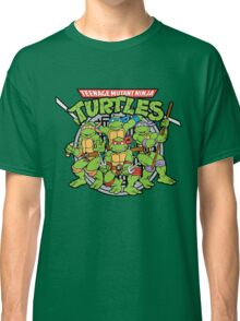 Teenage Mutant Ninja Turtles - Classic Classic T-Shirt