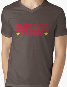 Employee Of The Month Funny Quote Mens V-Neck T-Shirt