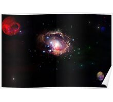 red planet galaxy  Poster