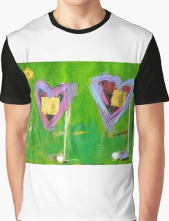 2 Hearts Golfing as 1 Graphic T-Shirt