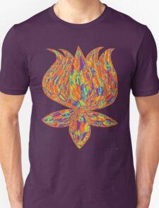 lotus psychedelic Unisex T-Shirt