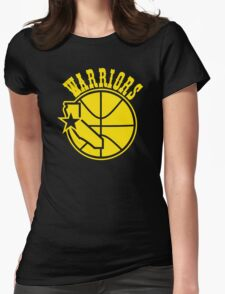 golden state warriors Womens Fitted T-Shirt